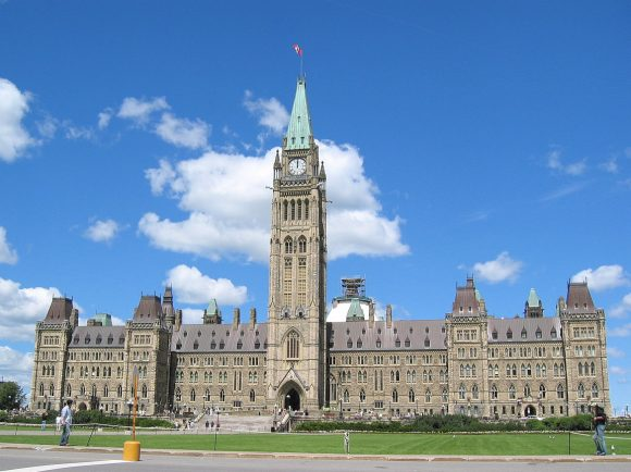Canadian Parliament Buildings Ottawa